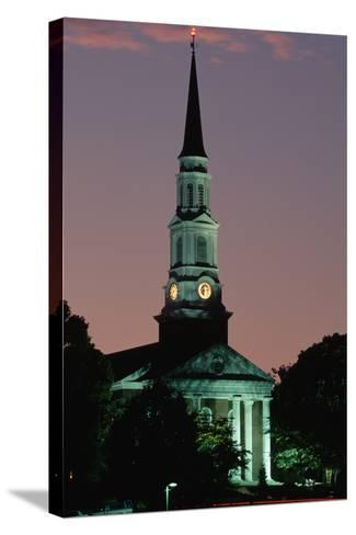 Chapel at the University of Maryland-Paul Souders-Stretched Canvas Print
