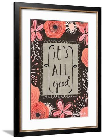 Smile it's Your Birthday-Katie Doucette-Framed Art Print