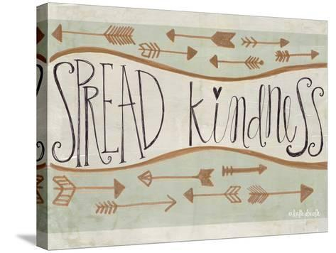 Spread Kindness-Katie Doucette-Stretched Canvas Print