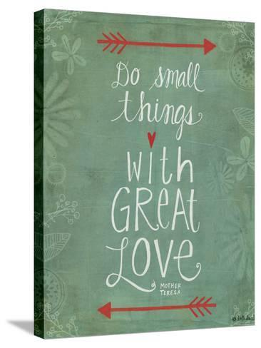 Do Small Things-Katie Doucette-Stretched Canvas Print