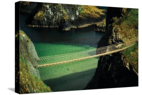Bridge Ridge V-Dennis Frates-Stretched Canvas Print