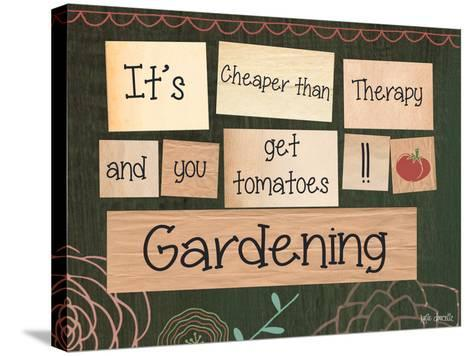Gardening-Katie Doucette-Stretched Canvas Print