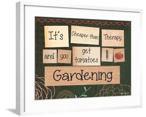 Gardening-Katie Doucette-Framed Art Print