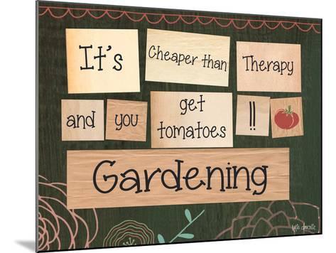 Gardening-Katie Doucette-Mounted Art Print
