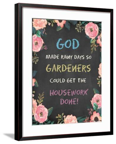 God Made - Floral-Jo Moulton-Framed Art Print