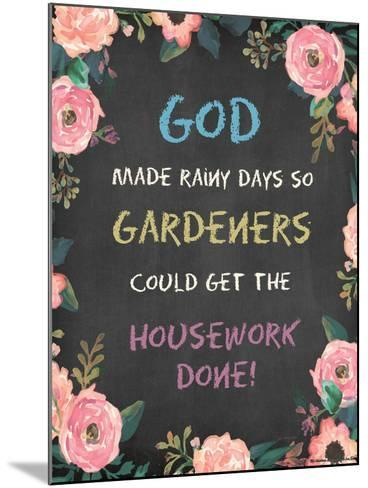 God Made - Floral-Jo Moulton-Mounted Art Print