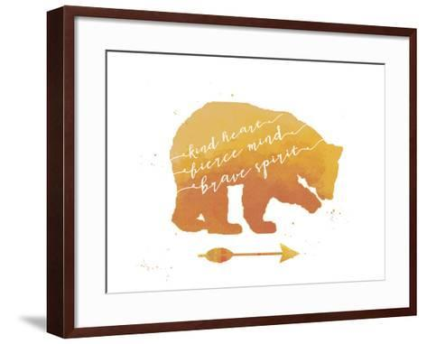 Brave Bear-Jo Moulton-Framed Art Print
