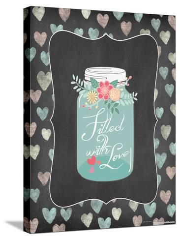 Filled with Love-Jo Moulton-Stretched Canvas Print
