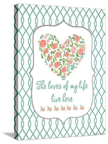 Loves of My Life-Jo Moulton-Stretched Canvas Print