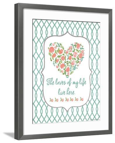 Loves of My Life-Jo Moulton-Framed Art Print