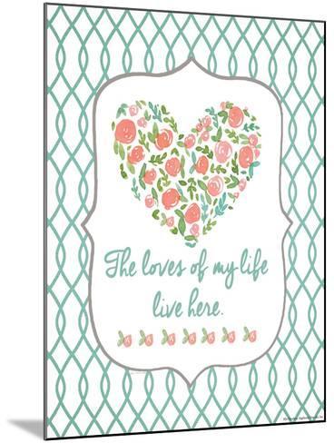 Loves of My Life-Jo Moulton-Mounted Art Print