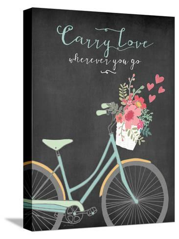 Carry Love-Jo Moulton-Stretched Canvas Print
