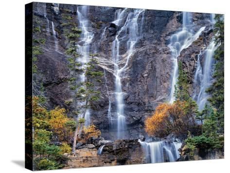 The Falls-Dennis Frates-Stretched Canvas Print