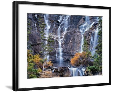 The Falls-Dennis Frates-Framed Art Print
