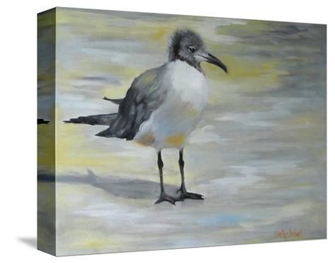 Little Sea Gull-Cheri Wollenberg-Stretched Canvas Print