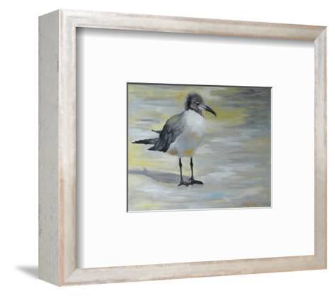 Little Sea Gull-Cheri Wollenberg-Framed Art Print