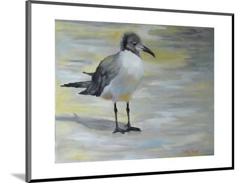 Little Sea Gull-Cheri Wollenberg-Mounted Art Print