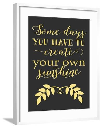 Create Your Own Sunshine-Tara Moss-Framed Art Print