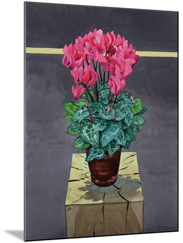Still Life Cyclamen-Christopher Ryland-Mounted Giclee Print