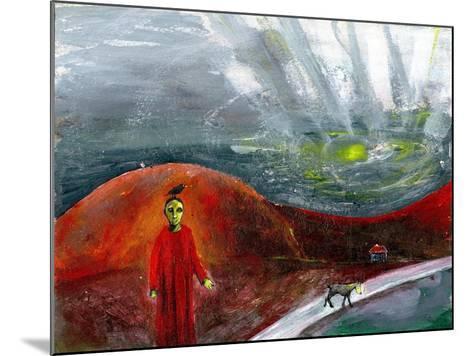 Yellow-Faced Dog Take Me Home, 2005-Gigi Sudbury-Mounted Giclee Print