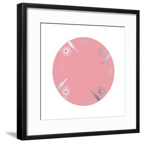 Pokerchip $10, 2015-Francois Domain-Framed Art Print