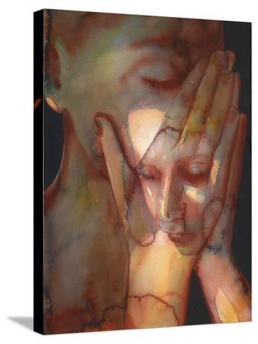 2 Prayer 2-Graham Dean-Stretched Canvas Print