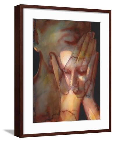 2 Prayer 2-Graham Dean-Framed Art Print