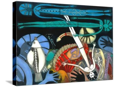 The Dream of the Fish - Falling Star-Annael Anelia Pavlova-Stretched Canvas Print