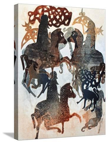Meigle 11, 2000-Gloria Wallington-Stretched Canvas Print
