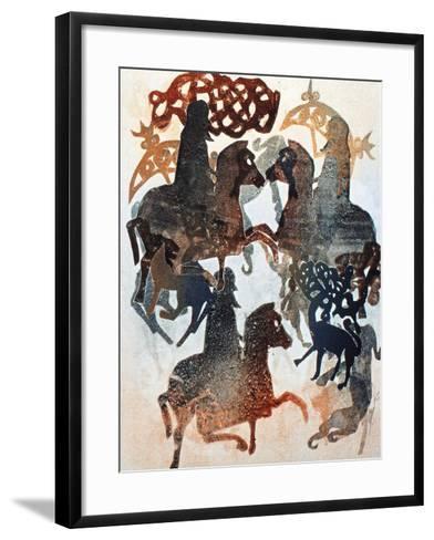 Meigle 11, 2000-Gloria Wallington-Framed Art Print