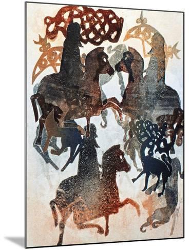 Meigle 11, 2000-Gloria Wallington-Mounted Giclee Print