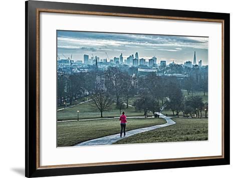 Jogger, Primrose Hill-Adam Butler-Framed Art Print