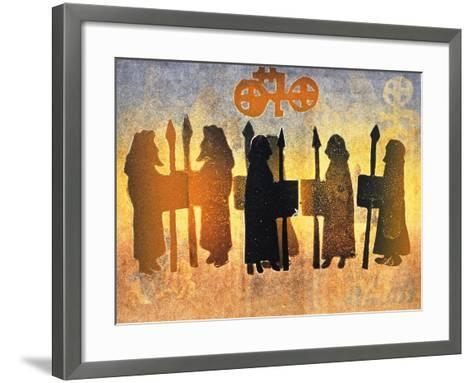Border Picts, 2000-Gloria Wallington-Framed Art Print