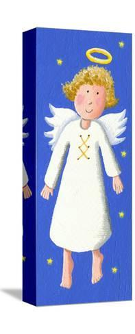 Cute Angel-andreapetrlik-Stretched Canvas Print