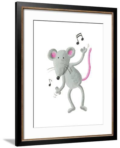 Dancing Mouse-andreapetrlik-Framed Art Print