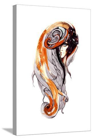 Beauty-okalinichenko-Stretched Canvas Print