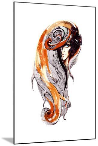 Beauty-okalinichenko-Mounted Art Print