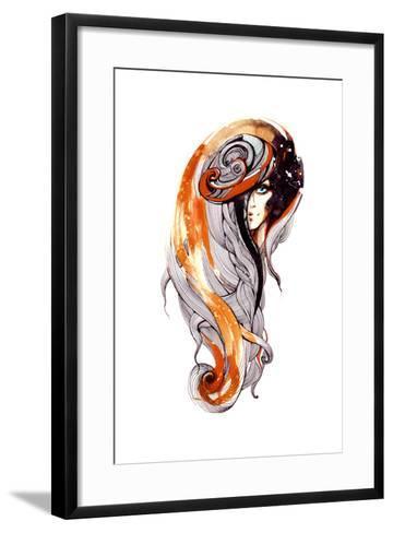 Beauty-okalinichenko-Framed Art Print