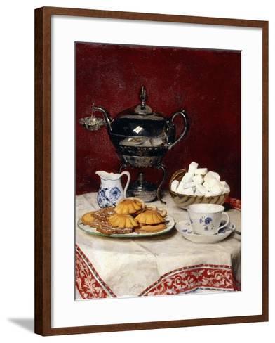 Still Life: Tasteful Tea, 1897-Albert Anker-Framed Art Print