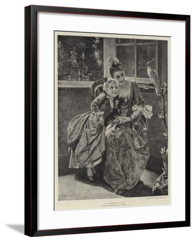 A Learned Pupil-Albert Raudnitz-Framed Art Print
