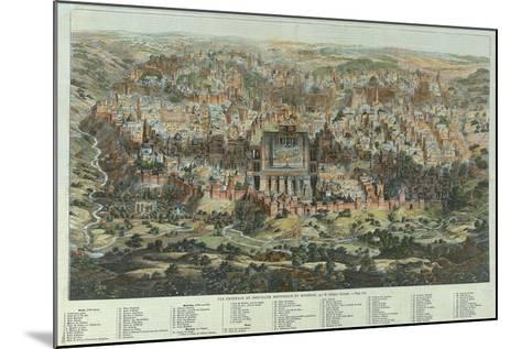 A General View of Jerusalem, 1862-Adolf Eltzner-Mounted Giclee Print