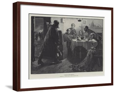 Called to the Life-Boat-Albert Starling-Framed Art Print