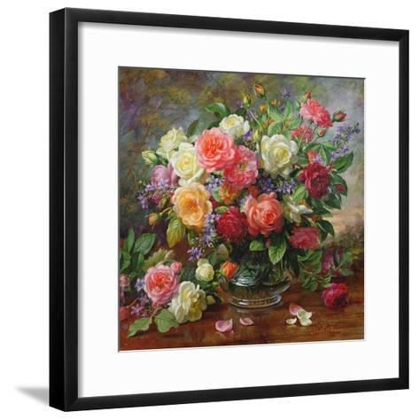 Roses - the Perfection of Summer-Albert Williams-Framed Art Print