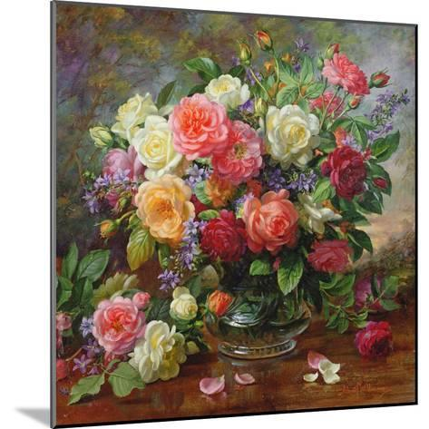 Roses - the Perfection of Summer-Albert Williams-Mounted Giclee Print