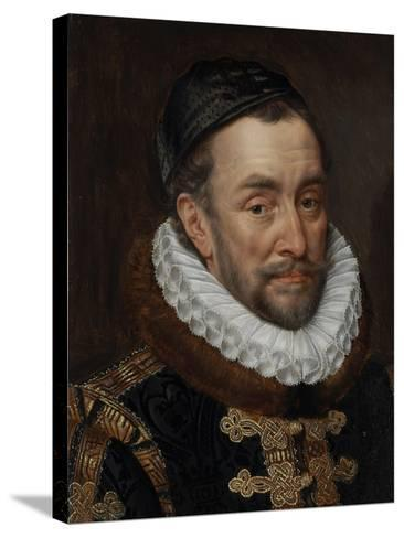 William I, Prince of Oranje, C.1579-Adriaen Thomasz Key-Stretched Canvas Print