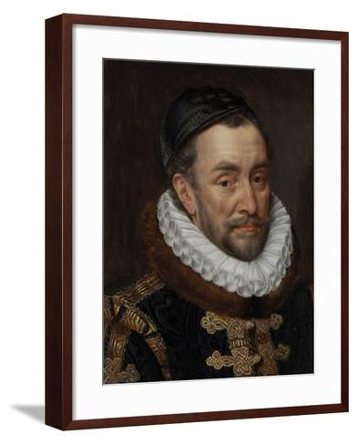 William I, Prince of Oranje, C.1579-Adriaen Thomasz Key-Framed Art Print
