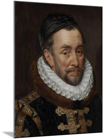 William I, Prince of Oranje, C.1579-Adriaen Thomasz Key-Mounted Giclee Print