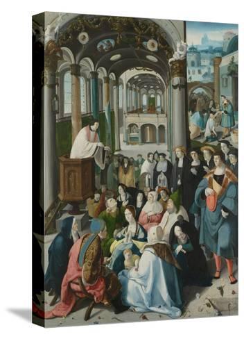 The Calling of Saint Anthony, C.1530-Aertgen Claesz van Leyden-Stretched Canvas Print