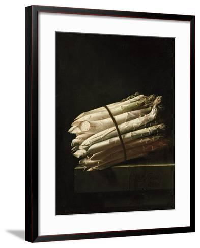Still Life of Asparagus, 1699-Adrian Coorte-Framed Art Print