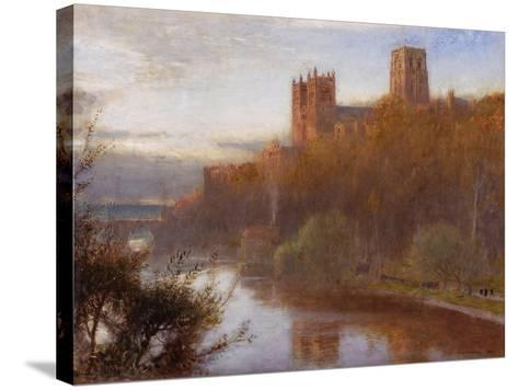 Durham Cathedral, 1910-Albert Goodwin-Stretched Canvas Print